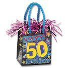 PK1 HAPPY 50TH BIRTHDAY BAG