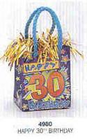 PK1 HAPPY 30TH BIRTHDAY BAG