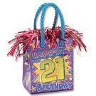 PK1 HAPPY 21ST BIRTHDAY BAG