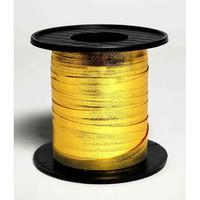 METALLIC RIBBON .CURL. GOLD 225m