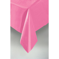 PLASTIC TABLECOVER RECTANGLE 137 X 274cm MAGENTA P1