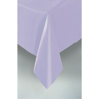 PLASTIC TABLECOVER RECTANGLE 137 X 274cm LAVENDER P1