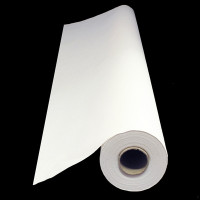 PAPER TABLECOVER 30 METRE PLAIN WHITE