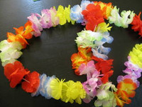 FLOWER LEIS BULK Pack of 50