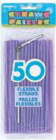 FLEXI STRAWS - LAVENDER 50