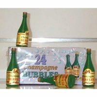 Bubbles - Champagne Bottle - Pack of 24