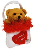BAGS OF LOVE : BROWN BEAR 12 CM