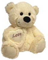 BEAR JELLY WITH HEART CREAM 40 CM