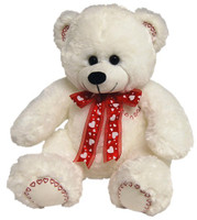 BEAR COOGEE 120CM: WHITE (+FREIGHT)