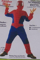 COSTUME SPIDER HERO