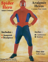SPIDER HERO ADULT