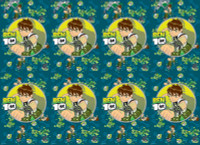 BEN 10 TABLECLOTH