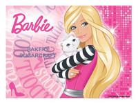 Barbie A4  edible image (26cm x 19cm).