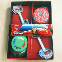 Cars 2 Cupcake Decorating Kit