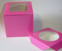 PEEK A BOO SINGLE SERVE CUPCAKE BOX