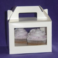 TWIN CUPCAKE TOTE WITH INSERT