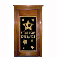 Door Cover - VIP Stage Door Entrance (75cm Wide x 1.5 Metres High)