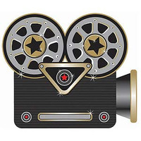 Cutouts Hollywood Projector 30cm