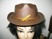 COWBOY HAT CHILD PLASTIC 30 cm X 23 cm