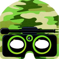 Masks Camo - Pack of 8