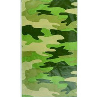 Tablecover Camo Camouflage print tablecloth. -