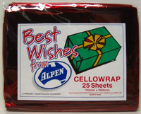 CELLOWRAP RED P25 750mmx1m