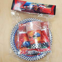 Party Pack 40pc Disney Cars