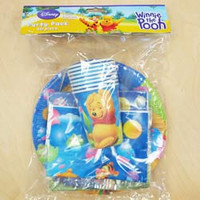 Party Pack Winnie The Pooh 40 Pieces