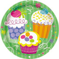 CUPCAKE 8 x 7in PLATES