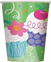 CUPCAKE 8 x 9oz CUPS