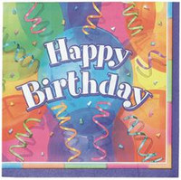 HAPPY BIRTHDAY JUBILEE 16 LUNCH NAPKINS