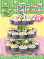 CUPCAKE TREE 3-TIERS 24 Cupcakes