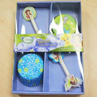 Cupcake Decoration Kit Fairies Tinkerbell