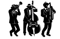 CUTOUTS JAZZ MUSICIANS