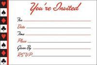 Card Night Invitations 8