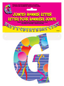 JOINTED BANNER LETTER G