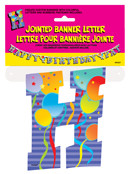 JOINTED BANNER LETTER H