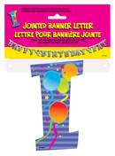 JOINTED BANNER LETTER I