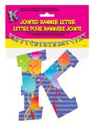 JOINTED BANNER LETTER K