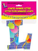 JOINTED BANNER LETTER L