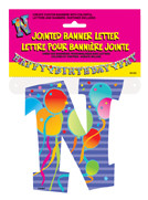JOINTED BANNER LETTER N