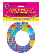 JOINTED BANNER LETTER O