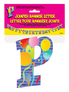 JOINTED BANNER LETTER P