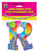 JOINTED BANNER LETTER R