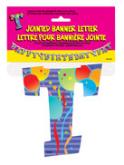 JOINTED BANNER LETTER T