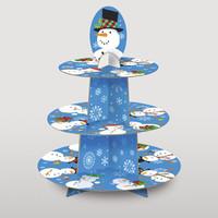 CHRISTMAS CUPCAKE STAND 29.8 CM X 38 CM
