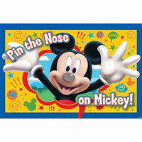 "Game Mickey Mouse ""Pin the nose on Mickey"""