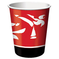 Black Belt Birthday Cups 9 Oz Hot/Cold (266ml) - Pack of 8