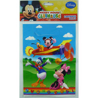 Mickey Mouse Clubhouse Loot Bag, (22cm High x 16.5cm Wide) - Pack of 8
