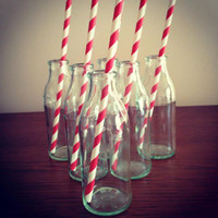 Mini Milk Bottle 14 Cm High x 5 Cm Diam